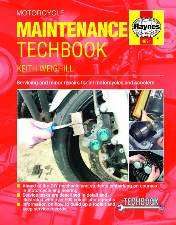 Motorcycle Service og Repair Manual.