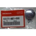 Honda 53171-MB1-000 CAP, GRIP RUBBER