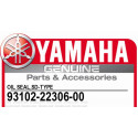 Yamaha 93102-22306-00 OIL SEAL,SD-TYPE XT250 1984