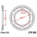 JT Bagkædehjul - JTR866 vælg antal tænder Yamaha XJR1200 FZR/YZF750 FZR/GTS/YZF1000