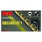 RK Kæde GB530XSO-114 GULD RX-ring