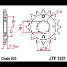 JT Fortandhjul - JTF1321.13 CRF250 NX250 CBF250 CBR250/300 XR250