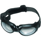 Motor Briller LUX SOLBRILLE TYPE M/STRAP HIGH QUALITY SMOKE GLASS (RØGFARVE GLAS)