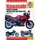 Haynes bog KAWASAKI EN500 454LTD NINJA250