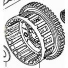 BRUGT Koblingskål Honda CBR SC59 22115-MFL-880 CLUTCH OUTER