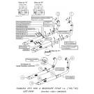 SilverTail K02 Chrom RACING Pipes XVS 950 A Midnight Star i.e. 09-10
