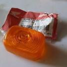 33402-GAS-901 LENS WINKER Blinkglas orange - originalt Honda SFX 50 2T NSR50/75