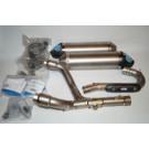 Leo Vince X3 Kompl Titanium CRF250 HONDA CRF250R CFR250F TITANIUM RACING 07-09