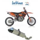 LeoVinci X3 Slipon  - KTM 525/560 SMR 05-07