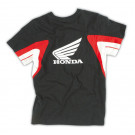 HONDA KIDS RACING T-SHIRT 10 ÅR / SORT