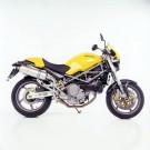 LeoVince SBK OVAL EVOII HI TITANIUM 1999-2004 Ducati MONSTER 600/750/900 IE