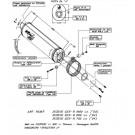 LeoVince Factory Titanium evo-II slip-on Potte EC-appr. SUZ. GSX-R 1000 03 EVO (GSXR 1000/750/600)