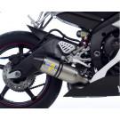 LeoVince Factory evo-II Titan EC-approved YAM. YZF 600 R6 06- GRATIS BMC FILTER