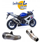 LeoVince GP PRO 2 slip-on Potte EC-appr. SUZ. GSX-R 1000 07-08