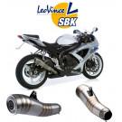 LeoVince GP PRO slip-on Potte EC-appr  SUZ. GSX-R 600/750 08-10