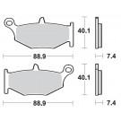 Bremseklodser BRAKING 924CM56 Sintered (Suzuki) BAG