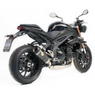 LeoVince SBK FACT-R CARBON Triumph Speed Triple 1050 2011-12