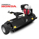 ATV mulcher with Honda GX 390 engine, black ASATVM120