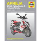 Haynes bog APRILIA SR50 SONIC RALLY HABANA MOJITO 50CCM