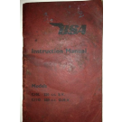 BRUGT Instruktionsbog BSA C10L/C11G