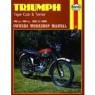 Haynes bog TRIUMPH TIGER CLUB - TERRIER 150CC 200CC