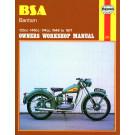 Haynes bog BSA BANTAM 123CC 148CC 174CC