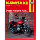 Haynes bog Kawasaki 900 og 1000 Fours