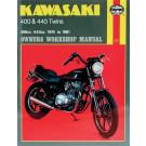 Haynes bog KAWASAKI Z400B/D LTD440 TWIN  74-81