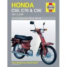 Haynes bog HONDA C50 C70 C90 67-03