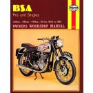 Haynes bog BSA PRE-UNIT SINGLES 348-591