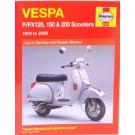 Haynes bog VESPA PX125 PX150 PX200 P125