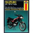 Haynes bog SUZUKI GT50 ZR50 TS50 77-90
