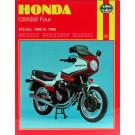 Haynes værkstedsbog  Honda CBX 550 82-86