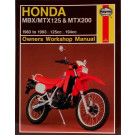 Haynes bog HONDA MBX125 MTX125 MTX200