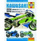 Haynes bog Kawasaki ZXR 750 R/RR