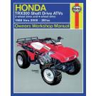 Haynes bog HONDA TRX300 SHAFT 2x4 4x4 88-00
