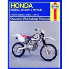 Haynes bog XR 250/400 R