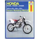 Haynes bog HONDA XL250L XR250R XR400R