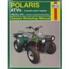 Haynes bog POLARIS ATV 2-T 4-T 85-97