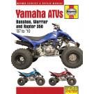 Haynes bog YAMAHA YFZ350 YFM350 87-10