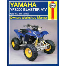 Haynes bog YAMAHA YFS200 YFB250 BLASTER