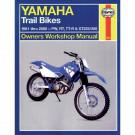 Haynes bog Yamaka PW50/80 RT100/180 TT-R90/125/225/250 XT225/350