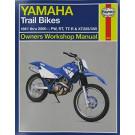 Haynes bog YAMAHA PW50 PW80 TTR25 -XT350