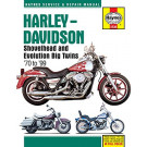 Haynes bog HD SHOVELHEAD & EVOLUTION BIG TWIN