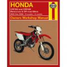 Haynes bog HONDA CRF250 CRF450 02-06