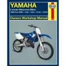 Haynes bog YAMAHA YZ80 YZ85 YZ125 YZ250 2-T 86-06