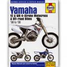 Haynes bog YAMAHA YZ250 YZ250F YZ450F WR250F WR450F 4-T