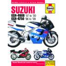Haynes bog Suzuki GSX-R 600 og 750,1997-2000.