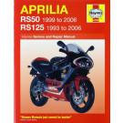 Haynes bog APRILIA RS50 RS125 93-06