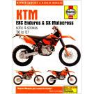 Haynes bog KTM EXC ENDURO SX MOTOCROSS 00-07